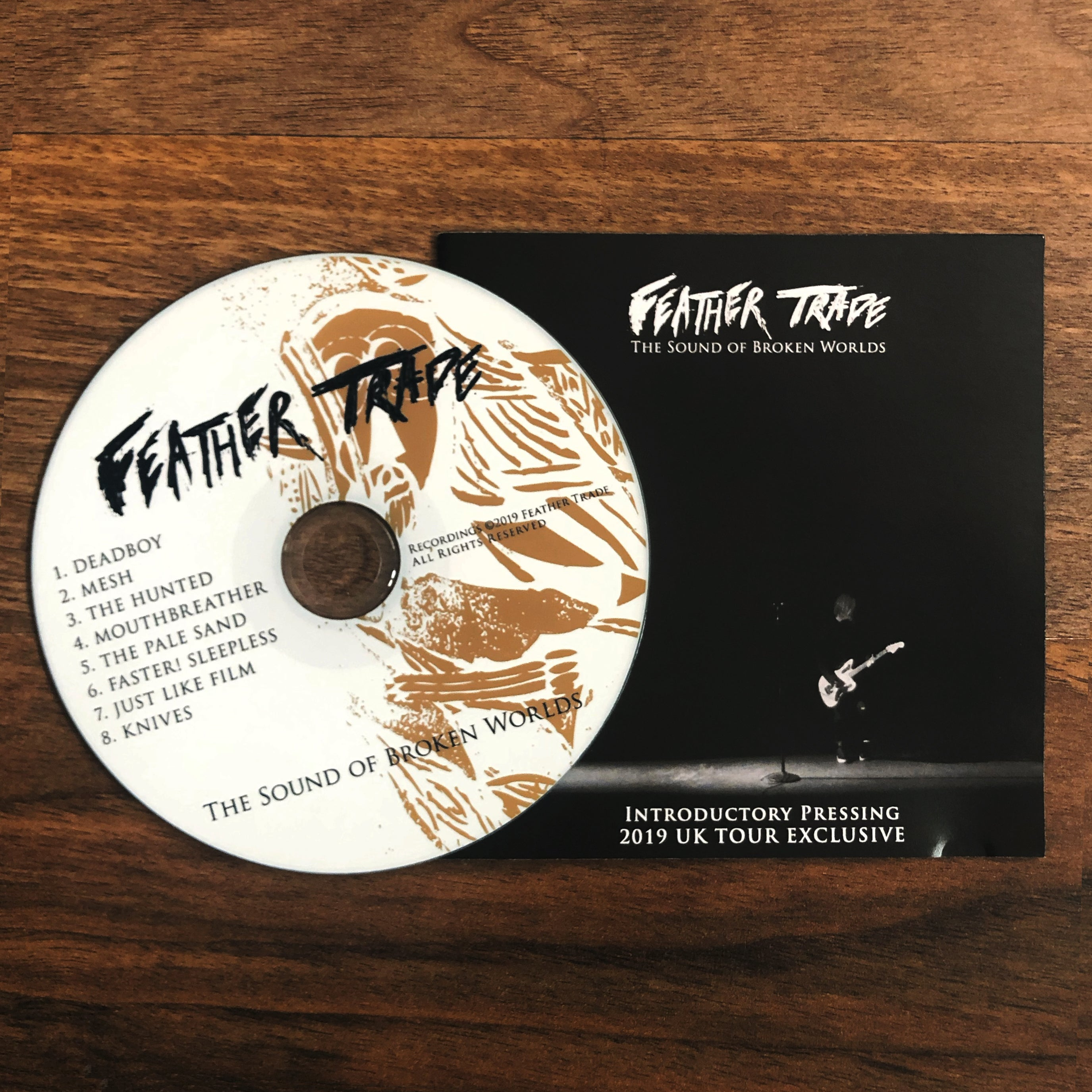 2019 UK TOUR EXCLUSIVE  - INTRODUCTORY PRESSING